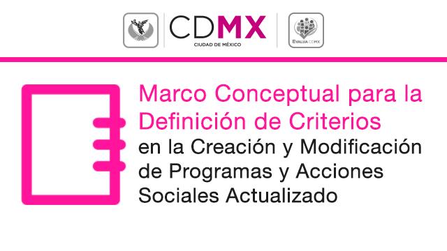 Marco Conceptual para la Definición de Criterios en la Creación