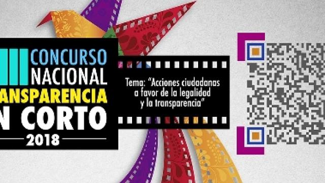 Convocatoria del XIII Concurso Nacional de Transparencia en Corto