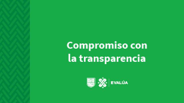 Compromiso con la transparencia